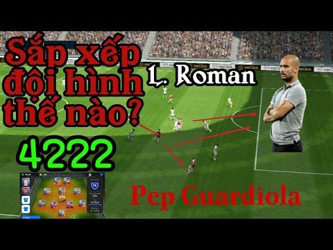 Pep Guardiola - Cách Sắp Xếp đội Hình Trong Pes Mobile