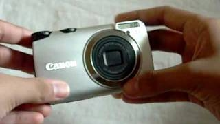 canon Powershot A3300 IS - Video Test - Macro Mode