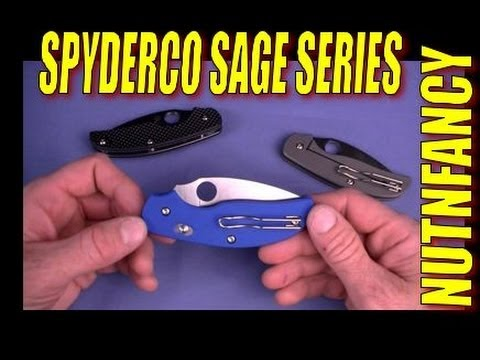 """Spyderco Sage: """"In These There is Wisdom"""" by Nutnfancy"""