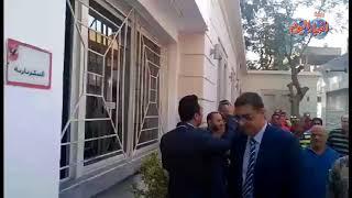 أخبار اليوم   محمود طاهر لحظة تقدمه لإنتخابات الأهلى