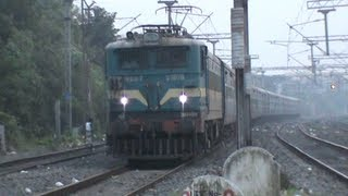 Ambitious ASN WAG-7 with Asansol ICE Superfast blows away Bidhan Nagar Road!!!