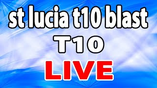 St. Lucia T10 live BLAST, 9th Match | BLS vs GCB| Cricket live