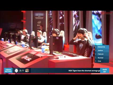 《LOL》IEM Season 11 卡托維茲決賽 D4 FW vs H2K game1