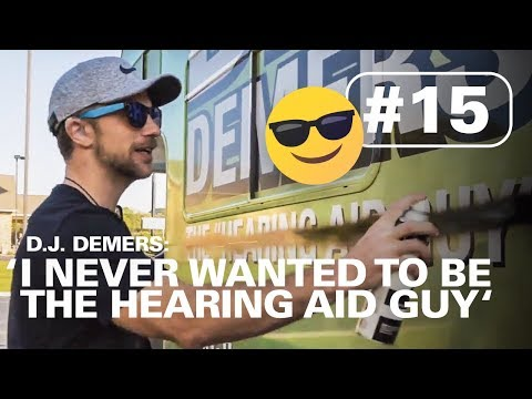 'I NEVER WANTED TO BE THE HEARING AID GUY'  | HERE TO HEAR TOUR #15
