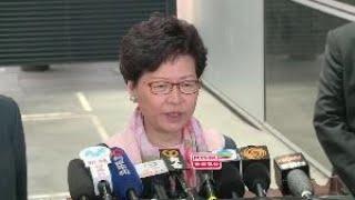 林鄭月娥稱尊重法庭裁決 不評論佔中案判刑
