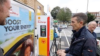 Shell Recharge - a new take on EV charging