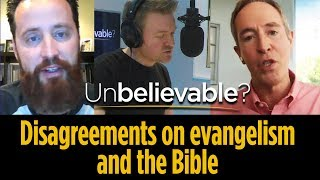 Andy Stanley and Jeff Durbin disagree on evangelism and the Bible