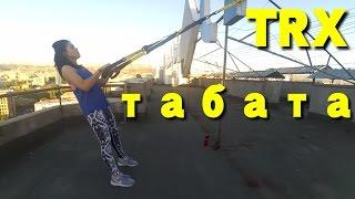 Тренировка протокол табата с TRX