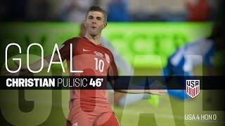 MNT vs. Honduras: Christian Pulisic Goal - March 24, 2017