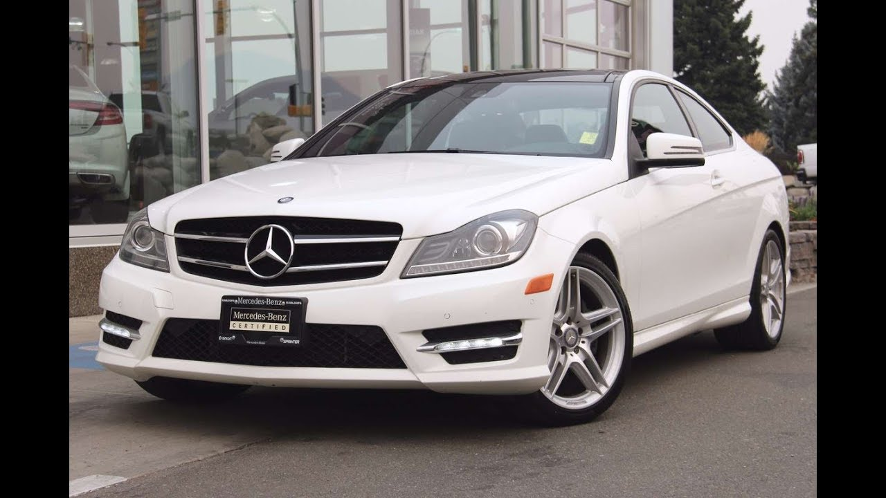 2015 mercedes benz c350 coup for sale mercedes benz kamloops youtube. Black Bedroom Furniture Sets. Home Design Ideas