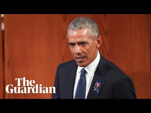 Barack Obama's Powerfully Political Eulogy For John Lewis
