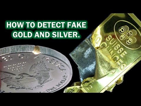How to Detect Fake Gold & Silver - Precious Metal Testing Verifier