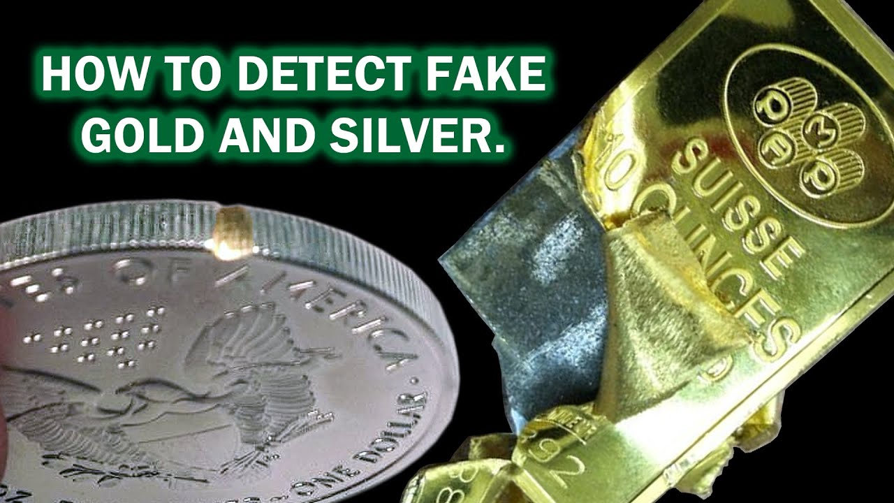 How To Detect Fake Gold Amp Silver Precious Metal Testing
