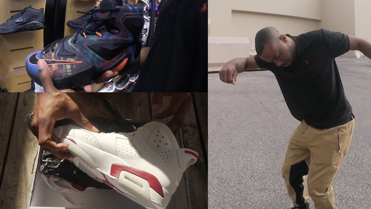 Dabbing On The HYPEBEAST! HEAT!Jordan Maroon 6 Early?! SneakerHead Shoe Vlog  Ep.18 - YouTube