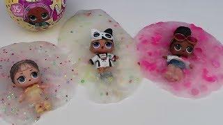 L.O.L. Confetti Pop Sürpriz Bebekler İle 3. Farklı Konfetili Şeffaf Slime Challenge Bidünya Oyuncak