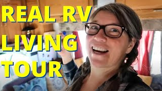 Tour my Winnebago Itasca Class C RV, Full time RVing