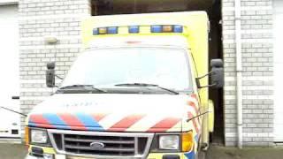 Sirene ambulance 08-117