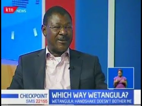 Moses Wetangula: Raila is not the leader of NASA, he was jus
