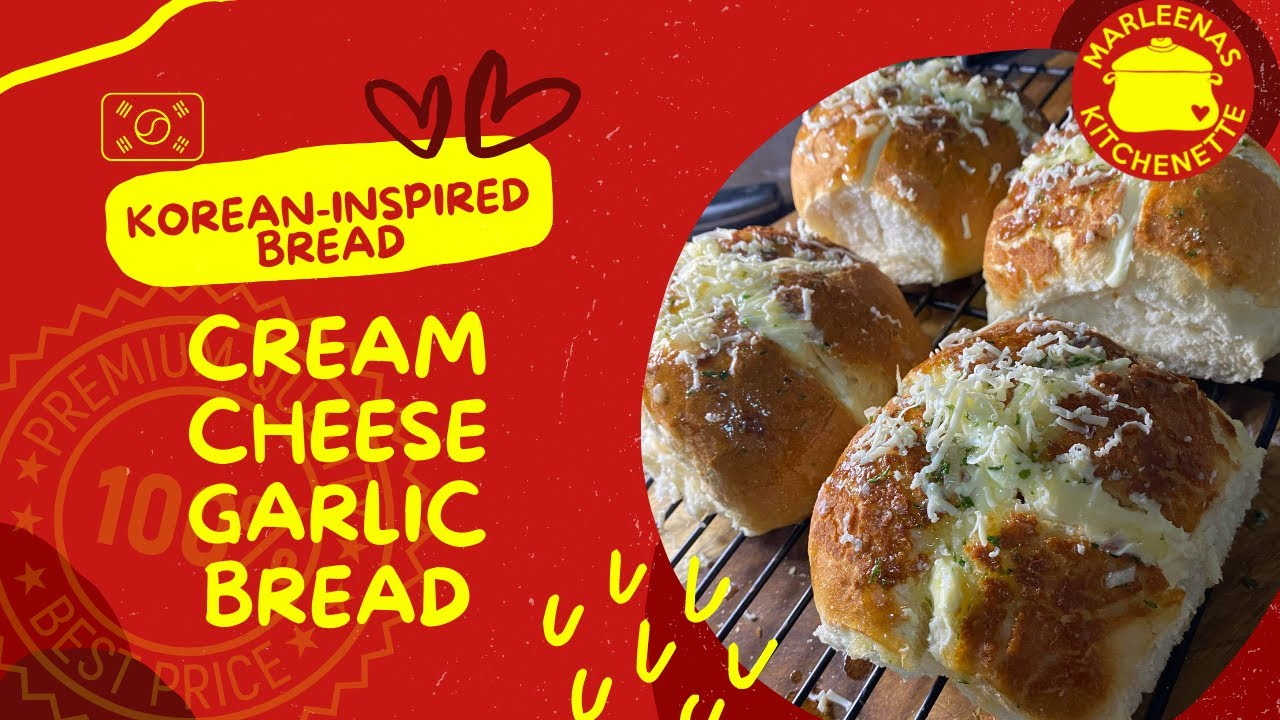 Turn Your Simple Bread into Special Cream Cheese Bread Korean Inspired Bread