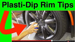 How To Paint Your Rims With PlastiDip