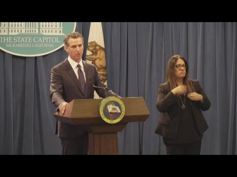 California homelessness & affordable housing: Gov. Gavin Newsom unveils plans in 2020 budget | RAW