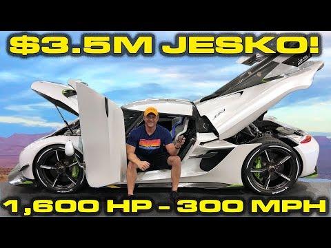 INSIDE LOOK * $3.5M - 1,600HP - 300 MPH Koenigsegg Jesko!