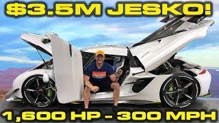 Download INSIDE LOOK * $3.5M - 1,600HP - 300 MPH Koenigsegg Jesko! Mp3 and Videos