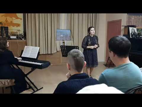 Фрагмент класс-концерта по актерской песне Дорогами войны