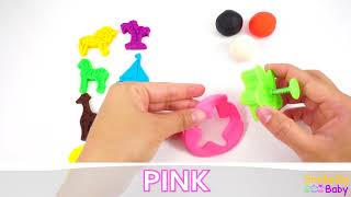 Play Doh Colors - Make Animals and Shapes!