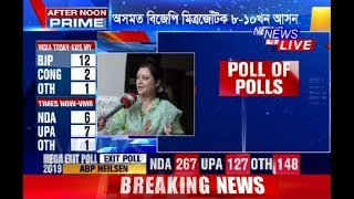 Candidates react to Exit Polls | Who said what?