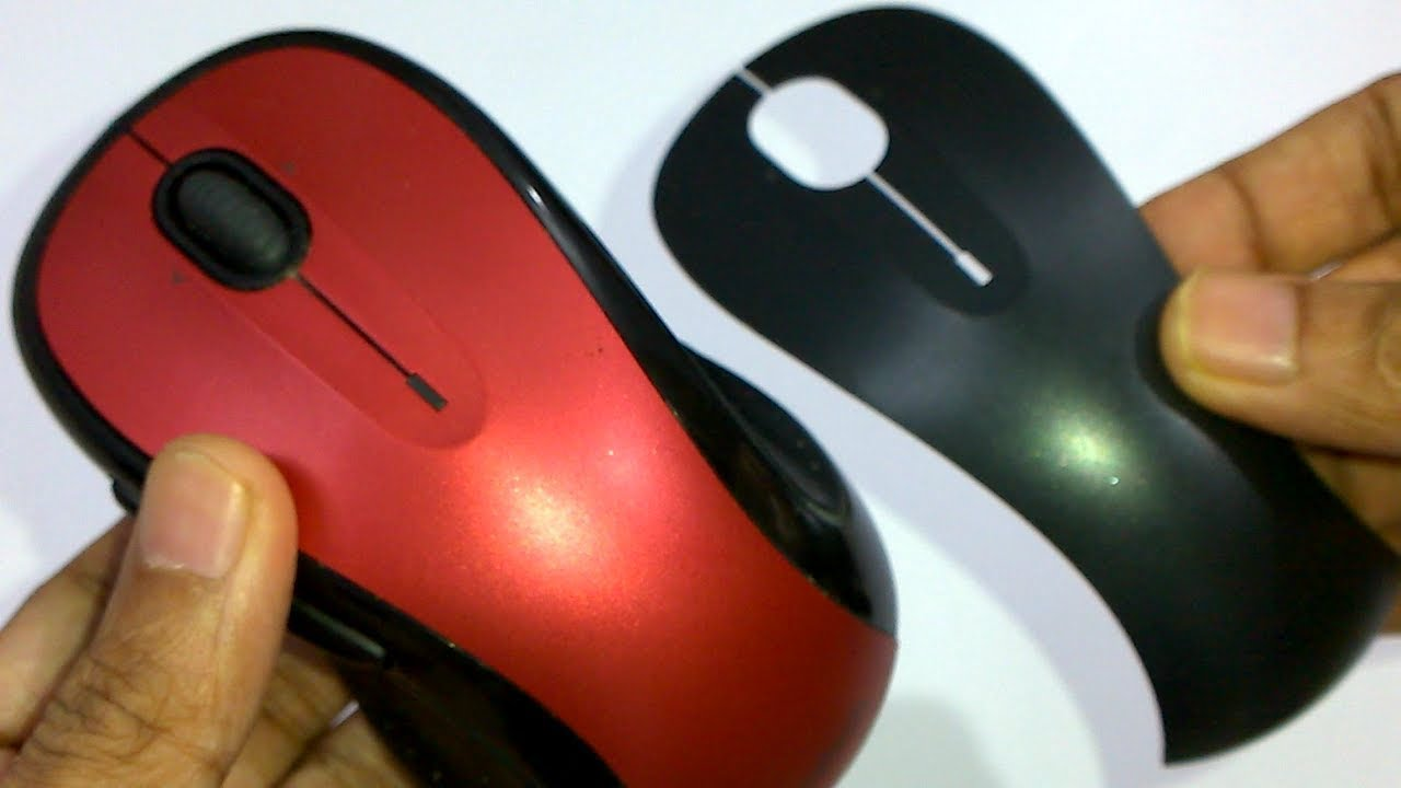 Logitech M510 Wireless Mouse - removing top panel