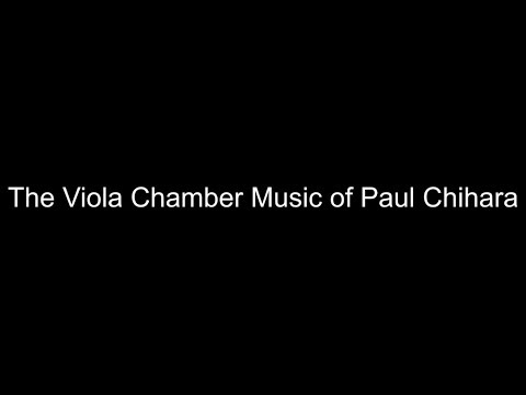 Paul Chihara: Duo Concertante (1986), I. Andante