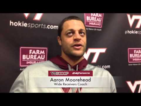 Post-Practice 9/23 with Aaron Moorehead