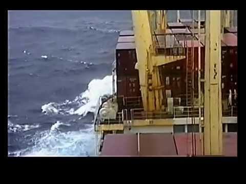 VIDEO 068, Journey Around the World 57,  Strait of Gibralter, 13  Nov 1989