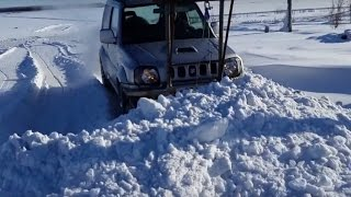 4x4 Snow Driving Wheeling Fails and Wins Compilation