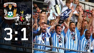 Traumtore! Coventry kehrt zurück in League One: Coventry - Exeter 3:1 | League Two Playoffs | DAZN