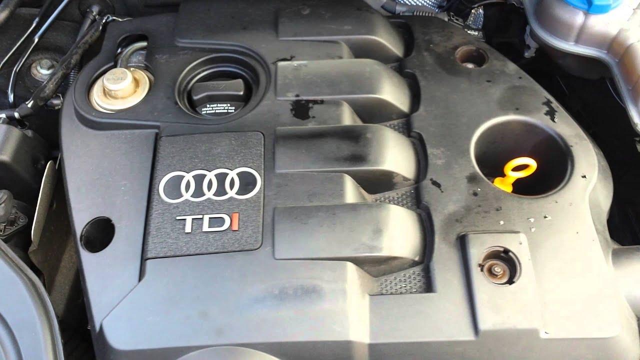 AUDI A4 AWX ENGINE - GENUINE LOW MILEAGE ENGINE 1 9TDI