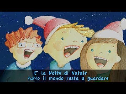 E' la notte di Natale con testo (Official lyrics)