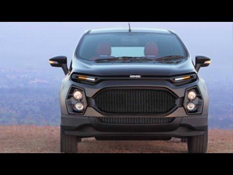 dc customized ford ecosport revealed youtube. Black Bedroom Furniture Sets. Home Design Ideas