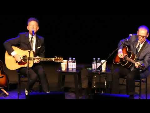 "Lyle Lovett & John Hiatt 2017-11-11 The Grand Opera House Wilmington DE ""The Road to Ensenada"""