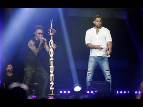 Ozuna Ft Romeo Santos Ibiza, El Farsante (Remix) y Sobredosis ÚLTIMO CONCIERTO GOLDEN TOUR En Vivo