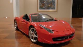 1:18 Ferrari 458 Spider Review