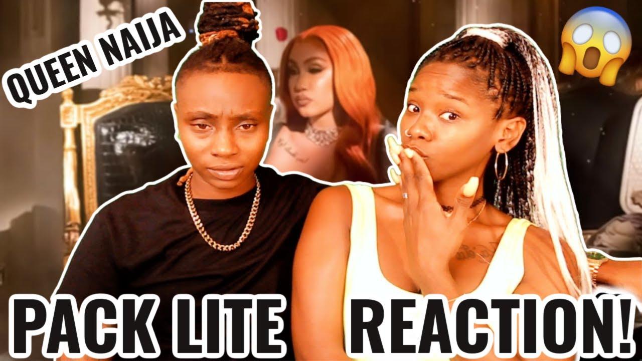 Download Queen Naija - Pack Lite (Official Audio) REACTION