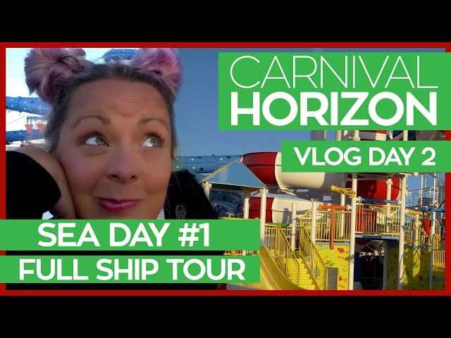 The Ultimate Guide to the Carnival Horizon | Carnival Horizon Cruise Vlog Day 02