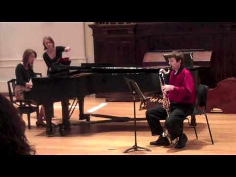 Mozart Bassoon Concerto Mvt. I on Bass Clarinet
