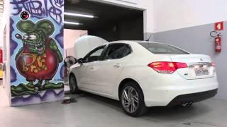 Citroën C4 Lounge - teste no dinamômetro FULLPOWER
