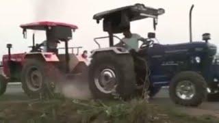 Swaraj 960 Fe vs Farmtrac 6060 sirra tochen