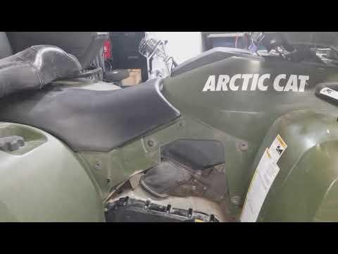 2007 Arctic Cat 650 H1 Primer For Hard Starting