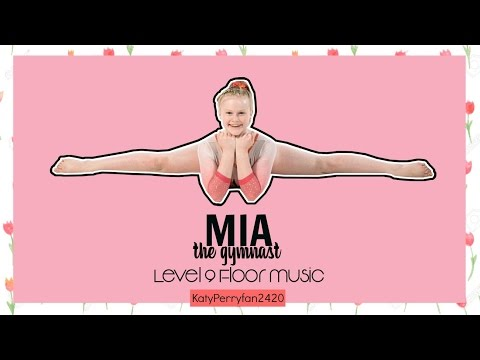 Mia the gymnast Coral girl: Mia Level 9 Floor Music