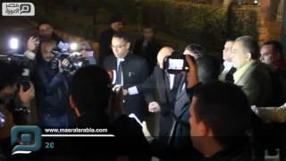 مصر العربية | عادل إمام في عزاء رفيق دربه أحمد راتب